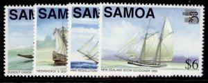 SAMOA QEII SG1038-1041, 1999 Australia worlds stamp exhibit set, NH MINT.