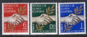 Equatorial Guinea 1-3 MNH VF