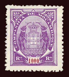 MOZAMBIQUE CO perf 12½ Scott #24a or 24d unused H