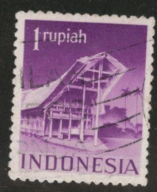 Netherlands Indies  Scott 325 used 1949 stamp