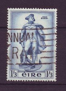 J24564 JLstamps 1956 ireland hv of set used #156 statue has scn old scv reverse