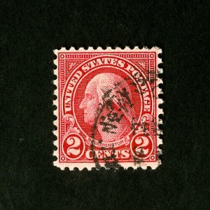 US Stamps # 579 XF Neat Cancel Scarce Choice Catalog Value $140.00