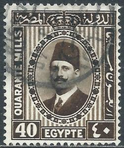 Egypt, Sc #144, 40m Used