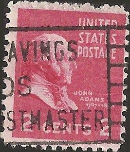 # 806 USED JOHN ADAMS