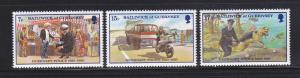 Guernsey 204-206 Set MNH Police