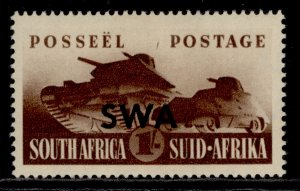 SOUTH WEST AFRICA GVI SG122, 1s brown, M MINT.