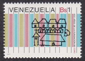 Venezuela # 1166, Symbolic City, LH, 1/3 Cat.