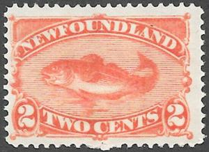 Newfoundland Scott Number 48 FVF H