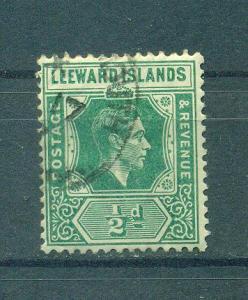 Leeward Islands sc# 104 used cat value $.75