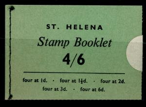 SG SB1, COMPLETE BOOKLET, NH MINT. Cat £55. ST. HELENA.