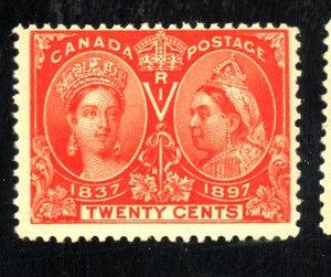 CANADA #59 MINT FVF OG NH CAT $650