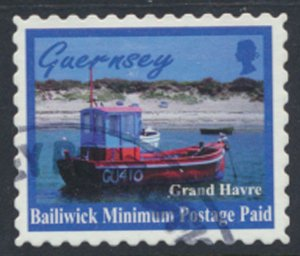 Guernsey Channel Islands SG 771 Used Grand Havre 1998 SC# 626 See scan