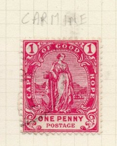 Cape of Good Hope 1892-93 Early Issue Fine Used 1d. 284487