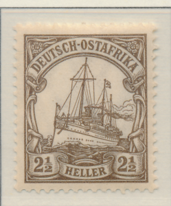 German East Africa Stamp Scott #22, Mint Hinged - Free U.S. Shipping, Free Wo...