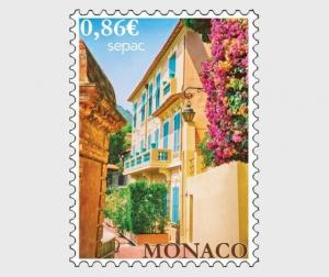 H01 Monaco 2019 Sepac 2019 - Old Residential Houses MNH Postfrisch