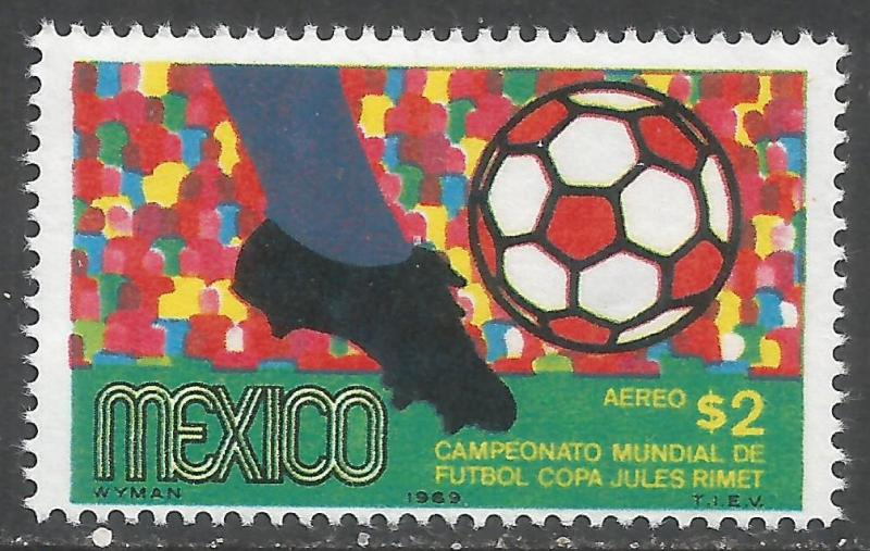 MEXICO C351 MNH WORLD CUP I359-2