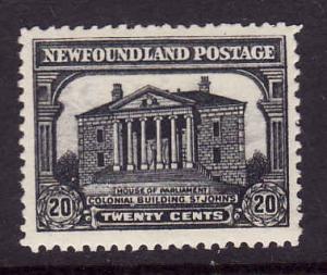 Newfoundland id.#13726-Sc.#171-20c Colonial Building-unused NH-1929-31-