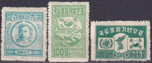 Korea #119-21  MNH  CV $24.00  Z498