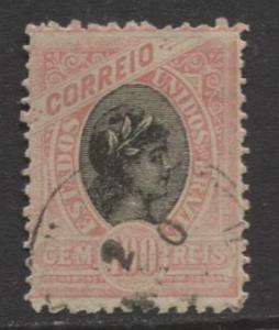 Brazil - Scott 116 - Definitive -1894 -Used - Single 100r Stamp