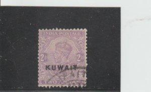 Kuwait  Scott#  4  Used  (1923 Overprinted)