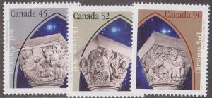 Canada - 1995 Christmas Set of 3 VF-NH #1585-1587