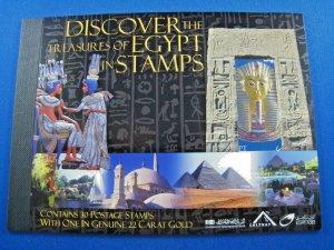 EGYPT  2004   -  SCOTT # 1877-1880  -  COMPLETE BOOKLET   MNH     (He3)