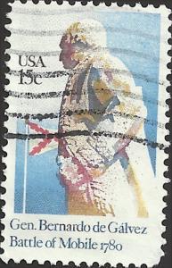 # 1826 USED GENERAL BERNARDO DE GALVEZ
