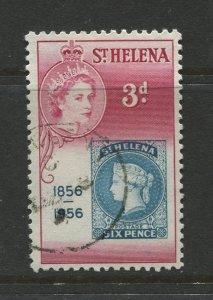 STAMP STATION PERTH St Helena #153 Cent.St Helena 1st Postage Stamp 1956 VFU