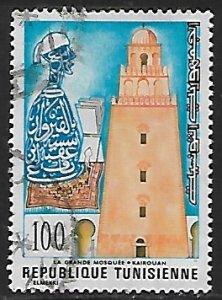 Tunisia # 693 - Mosque Kairouan - used.....{Gn12}