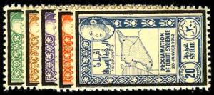 SYRIA 293-97  Mint (ID # 50504)