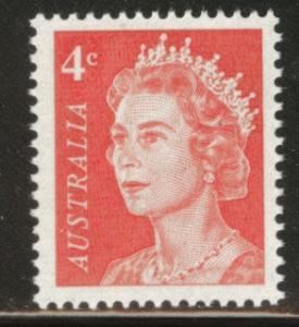 AUSTRALIA Scott 397 MNH** QE2 4p stamp 1966 CV$0.25
