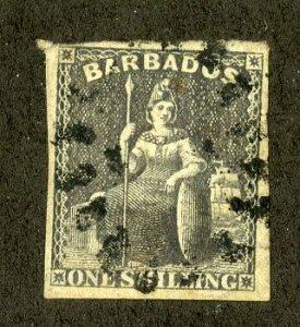 BARBADOS 9 USED SCV $85.00 BIN $32.50 ROYALTY