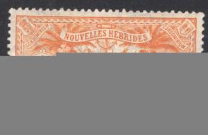 NEW HEBRIDES-FRENCH SCOTT 18