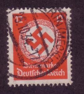 Germany Sc.# O86 Used, '34 Issue Wmk. 237 Better Cancel