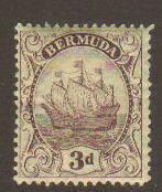 Bermuda #89 Mint