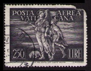 VATICAN 1948 AIRMAIL 250L #C16 SCV $10. SEE SCAN (V730)