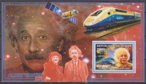 2006 Guinea 4288/B991 Albert Einstein / Trains 7,00 €