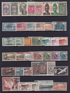 Cameroon (French) a mainly MH lot