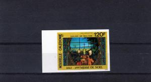 New Caledonia 1993 Christmas-Church Set Imperforated Sc#C256
