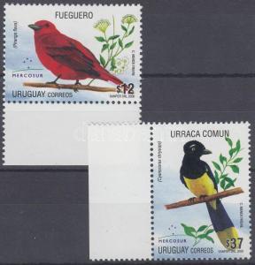 Uruguay stamp Birds margin set 2008 MNH MI 3019-3020 WS186757