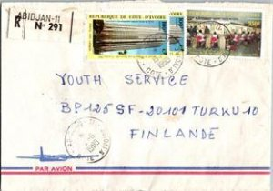 Ivory Coast, Registered