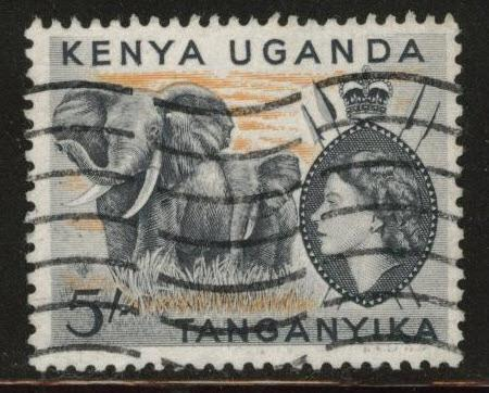 Kenya Uganda and Tanganyika KUT Scott 115 used