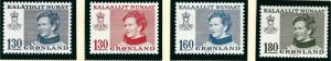 Greenland Slania Scott 94-97  VF MNH SCV $2.60...Nice!