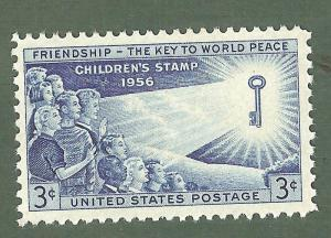 1085 Children Of The World US Single Mint/nh (Free shipping offer)