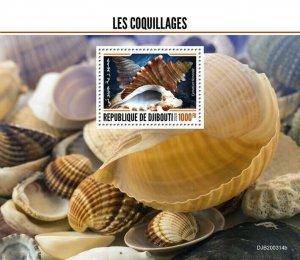 2020/06- DJIBOUTI - SHELLS        1V MNH**