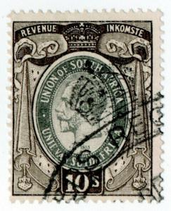 (I.B) South Africa Revenue : Duty Stamp 10/-
