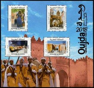 HERRICKSTAMP NEW ISSUES MOROCCO Oujda, Arab Capital of Culture S/S