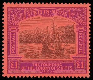 St. Kitts-Nevis Scott 52-64 Gibbons 48-60 Mint Set of Stamps