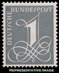 Germany Scott 737A Mint never hinged.