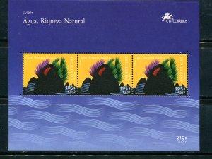Azores   Europa 2001 sheet  VF NH